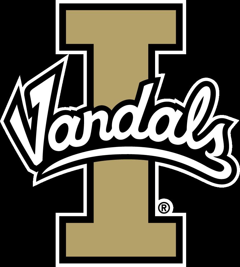 Idaho Vandals Logo Primary Logo (2018) - Script Vandals on Block I SportsLogos.Net