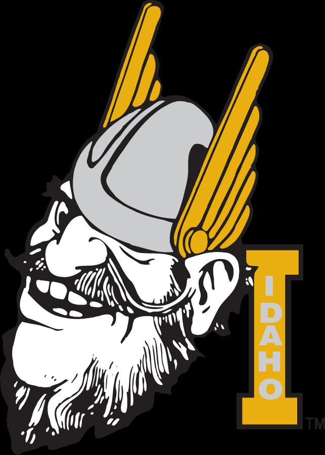 Idaho Vandals Logo Secondary Logo (1998-2008) - Joe Vandal with Block I SportsLogos.Net