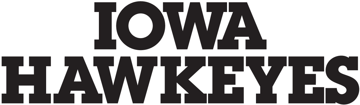 Iowa Hawkeyes Logo Wordmark Logo (2000-Pres) -  SportsLogos.Net