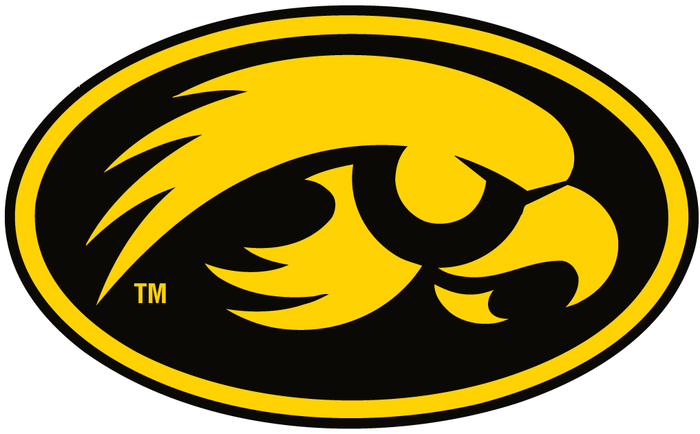 Iowa Logo Hawkeye Iowa Hawkeyes Alternate Logo