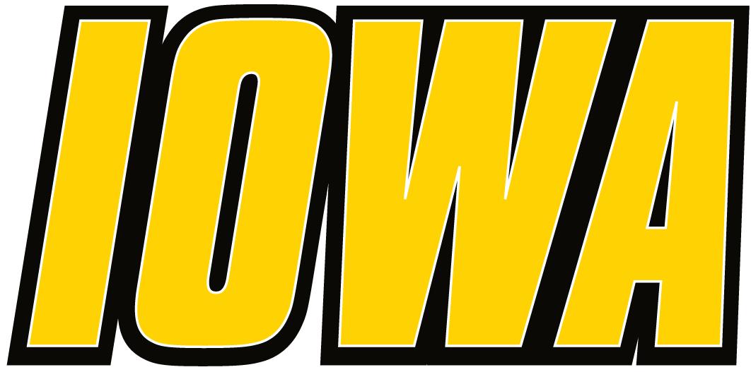 Iowa Hawkeyes Logo Wordmark Logo (2002-Pres) -  SportsLogos.Net