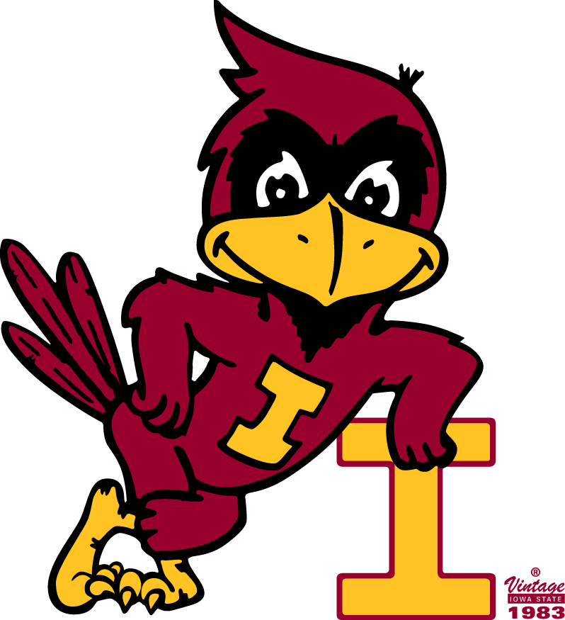 Iowa State Cyclones Logo Alternate Logo (1983-1994) -  SportsLogos.Net