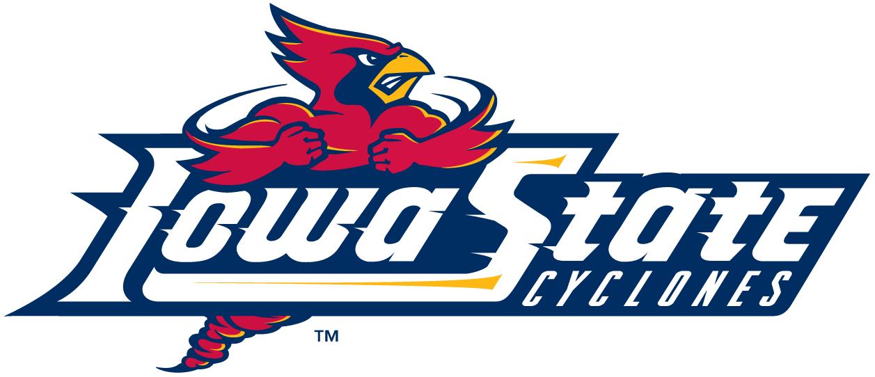 Iowa State Cyclones Logo Wordmark Logo (1995-2007) -  SportsLogos.Net