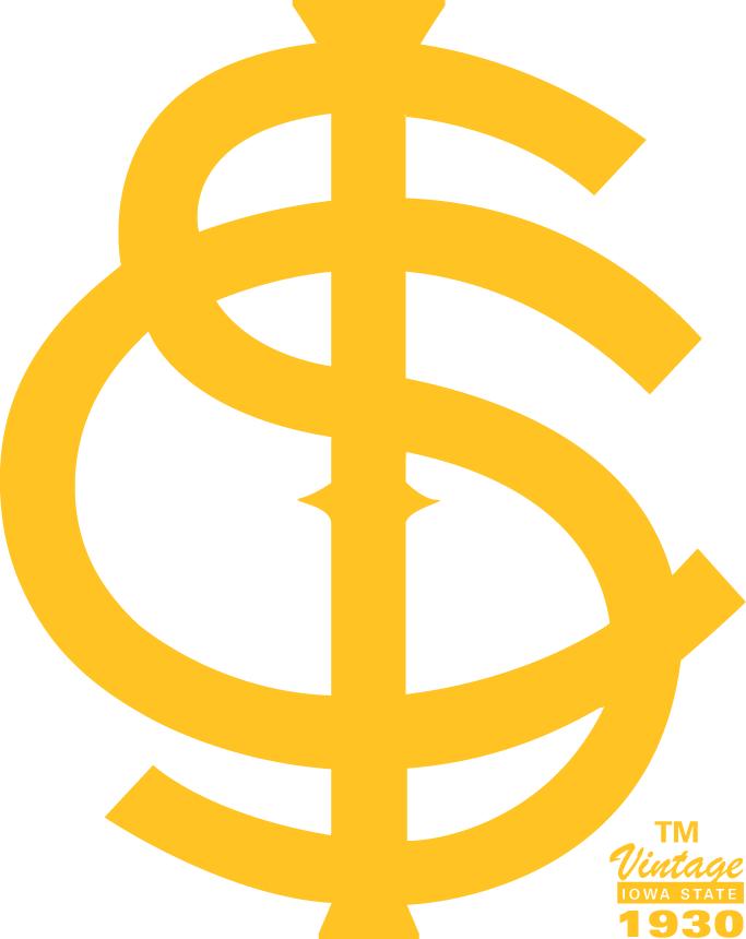Iowa State Cyclones Logo Primary Logo (1930-1941) -  SportsLogos.Net