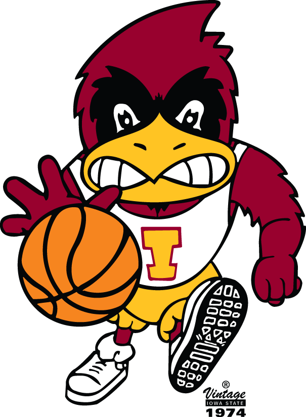 Iowa State Cyclones Logo Mascot Logo (1974-1983) -  SportsLogos.Net
