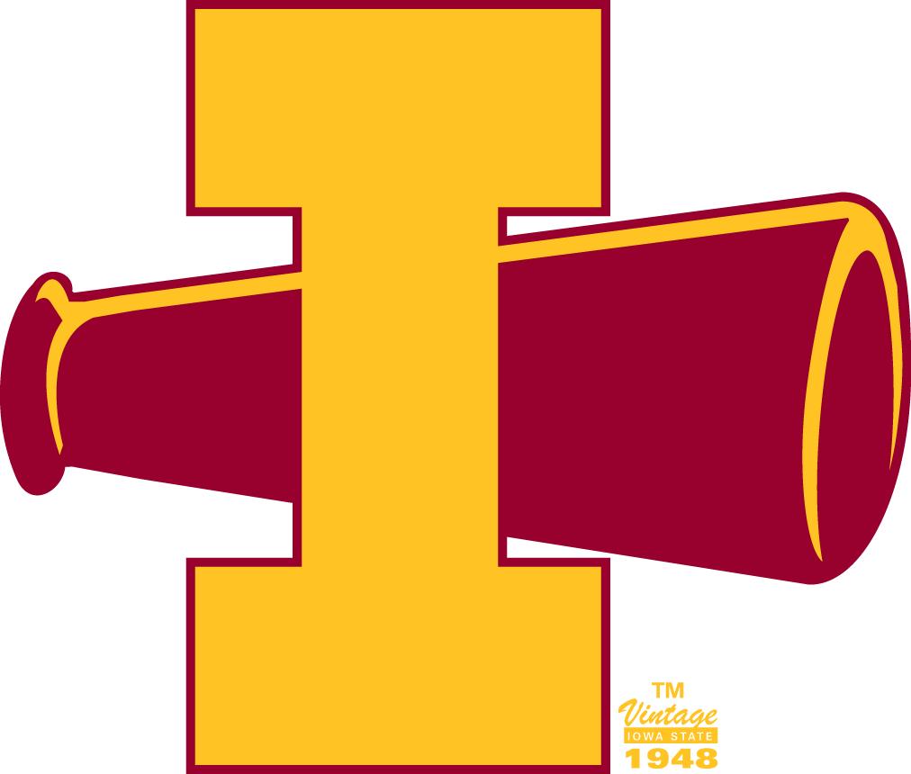 Iowa State Cyclones Logo Primary Logo (1948-1956) -  SportsLogos.Net