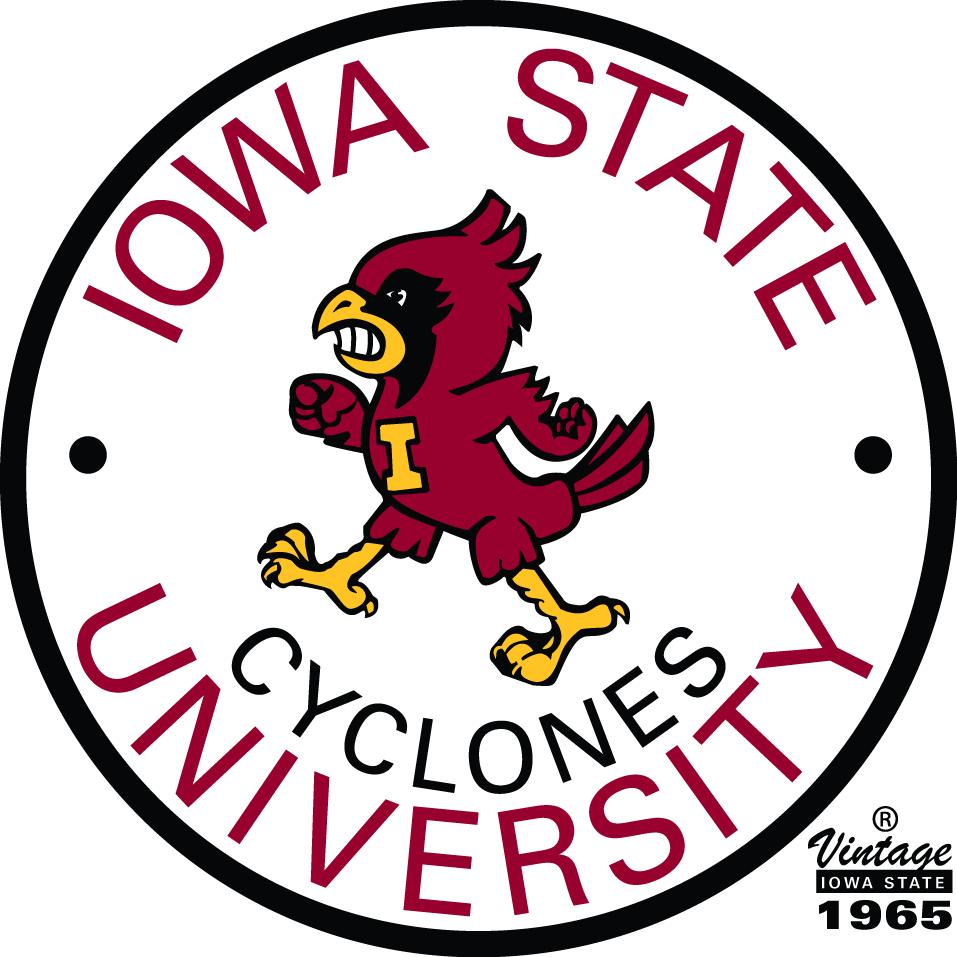 Iowa State Cyclones Logo Alternate Logo (1965-1977) -  SportsLogos.Net
