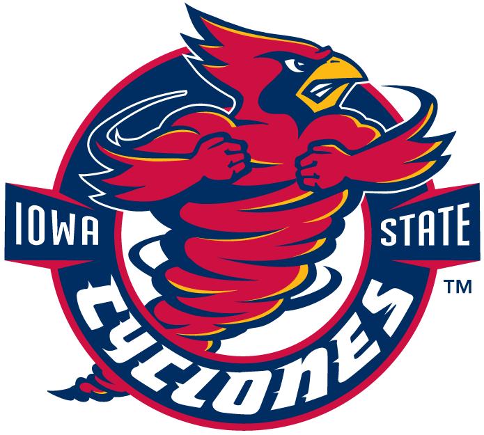 Iowa State Cyclones Logo Alternate Logo (1995-2006) - Spinning cardinal in a circle SportsLogos.Net