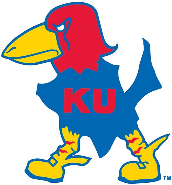 Kansas Jayhawks Logo Primary Logo (1929-1940) -  SportsLogos.Net