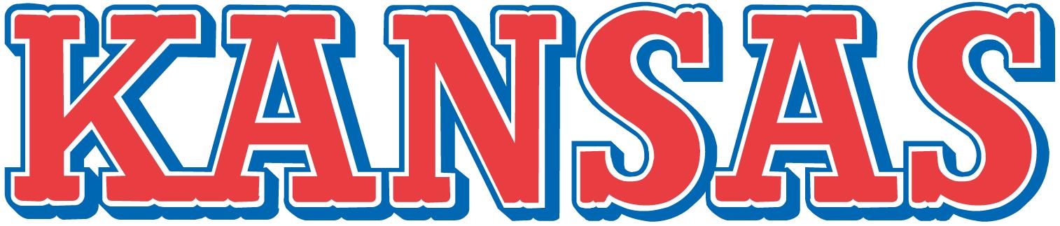 Kansas Jayhawks Wordmark Logo - NCAA Division I (i-m ...