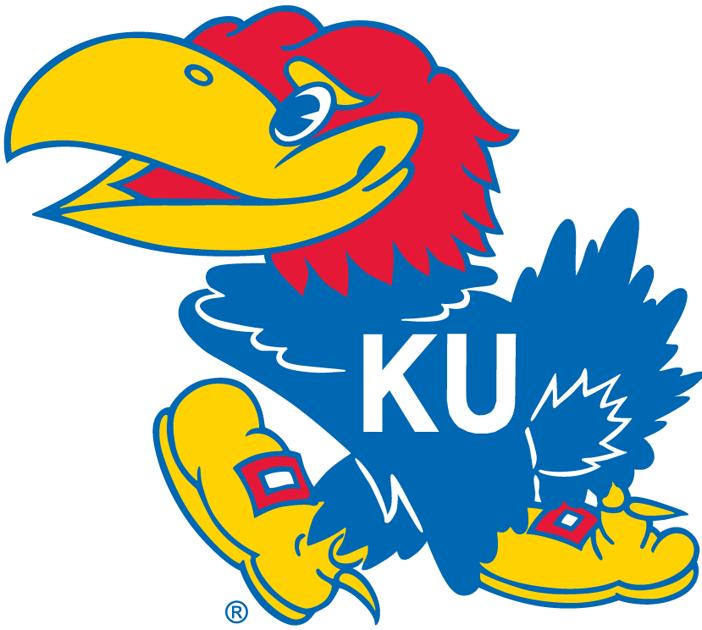 Kansas Jayhawks Logo Secondary Logo (1946-2005) -  SportsLogos.Net