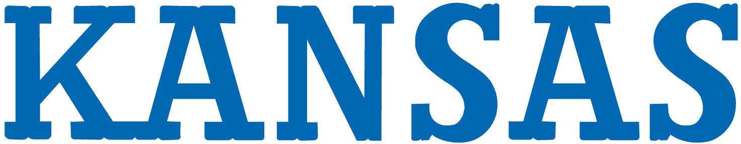 Kansas Jayhawks Logo Wordmark Logo (1941-1988) -  SportsLogos.Net