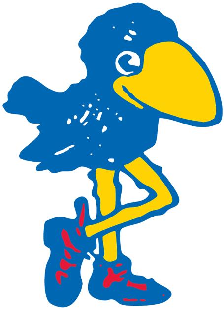 Kansas Jayhawks Logo Primary Logo (1912-1919) -  SportsLogos.Net
