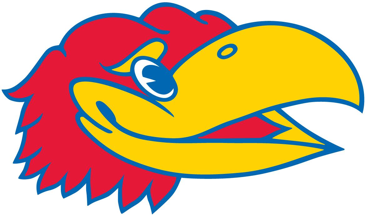 Kansas Jayhawks Logo Partial Logo (1946-Pres) -  SportsLogos.Net