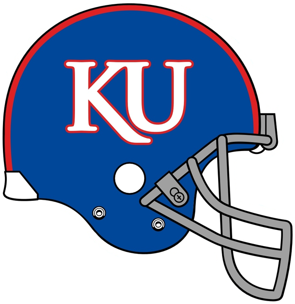 Kansas Jayhawks Helmet Helmet (2007-2009) -  SportsLogos.Net