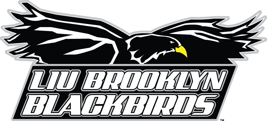 LIU-Brooklyn Blackbirds Logo Primary Logo (2008-2018) -  SportsLogos.Net