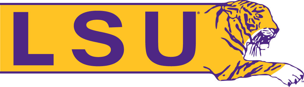 LSU Tigers Logo Alternate Logo (1984-1996) -  SportsLogos.Net