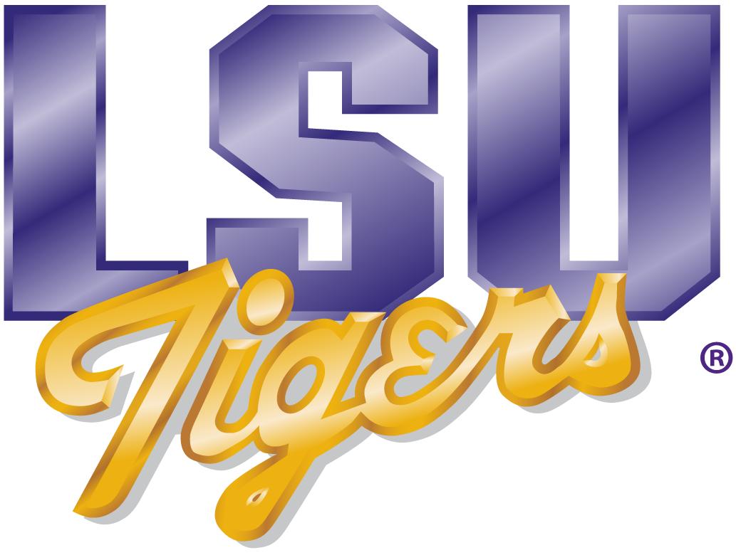 LSU Tigers Logo Primary Logo (1990-2001) -  SportsLogos.Net