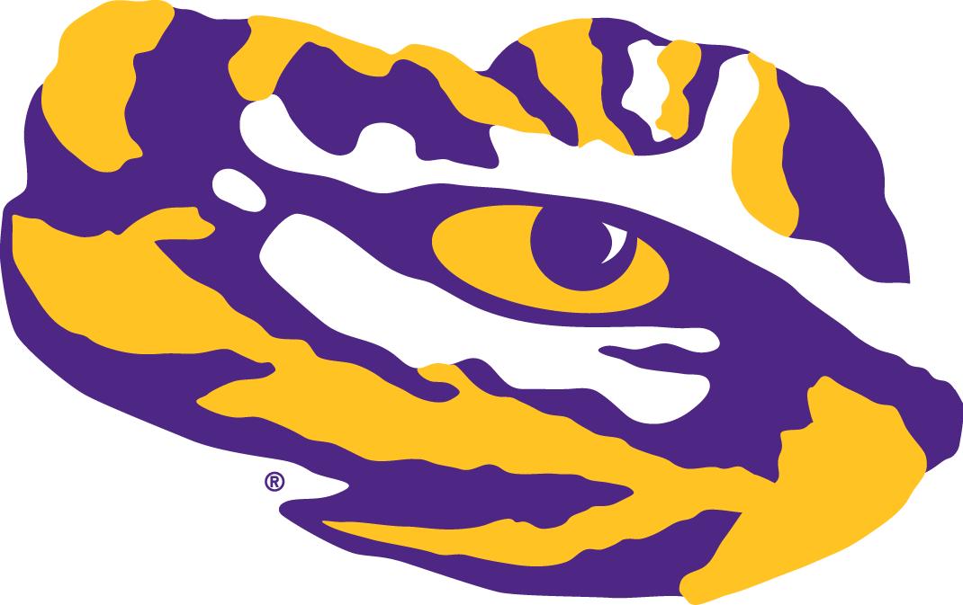 lsu tigers secondary logo ncaa division i i m ncaa i m chris rh sportslogos net lsu logos and designs lsu logos free