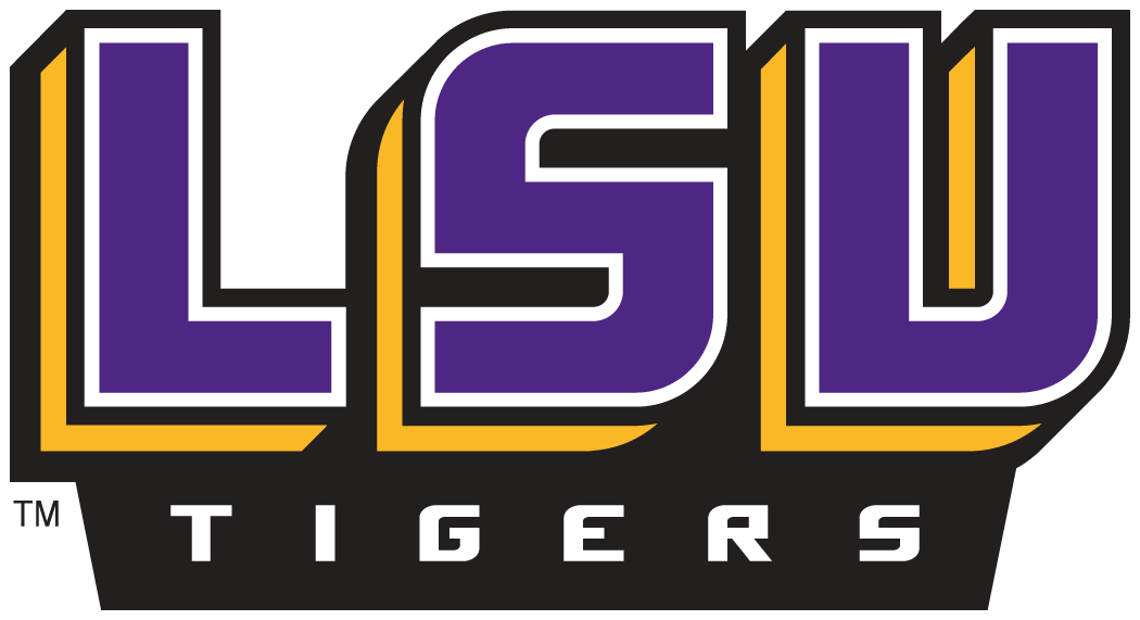 lsu tigers wordmark logo ncaa division i i m ncaa i m chris rh sportslogos net LSU Tiger Eye Logo lsu tigers logo pictures