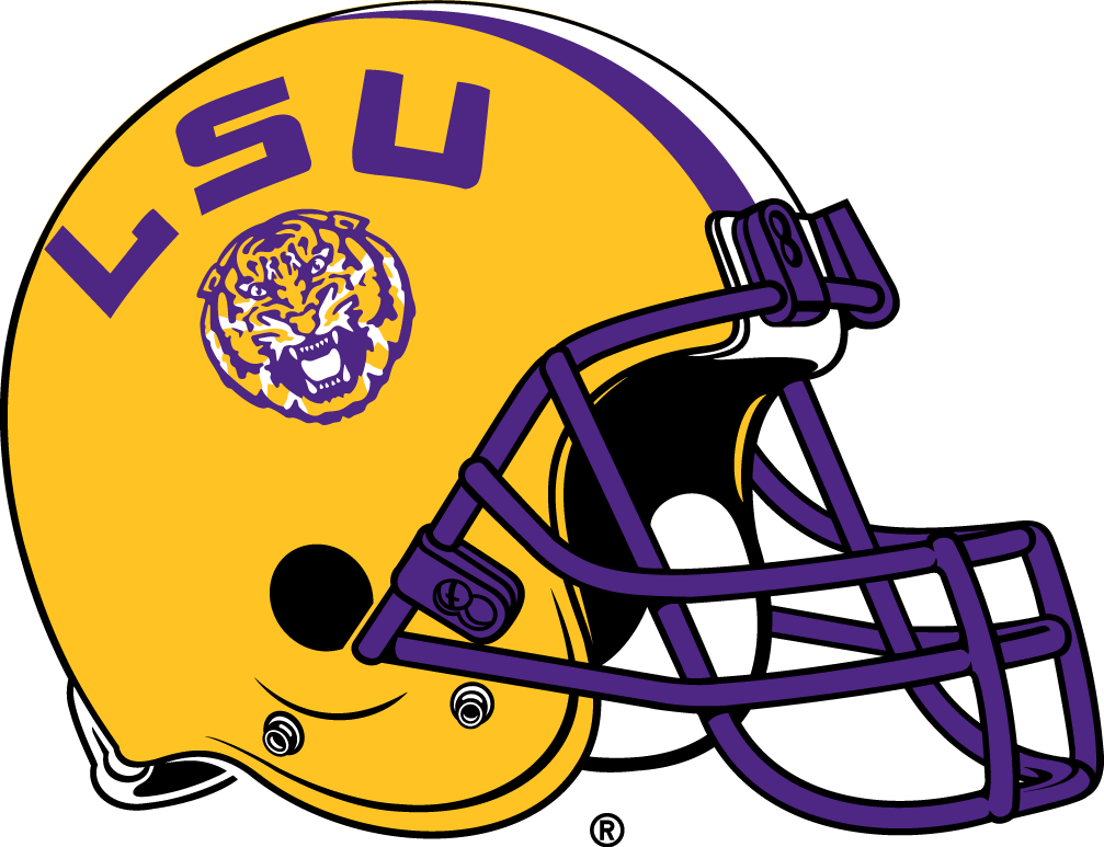 LSU Tigers Helmet - NCAA Division I (i-m) (NCAA i-m) - Chris ... 418639bb5