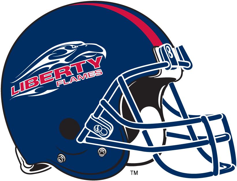 Liberty Flames Helmet Helmet (2004-2012) -  SportsLogos.Net