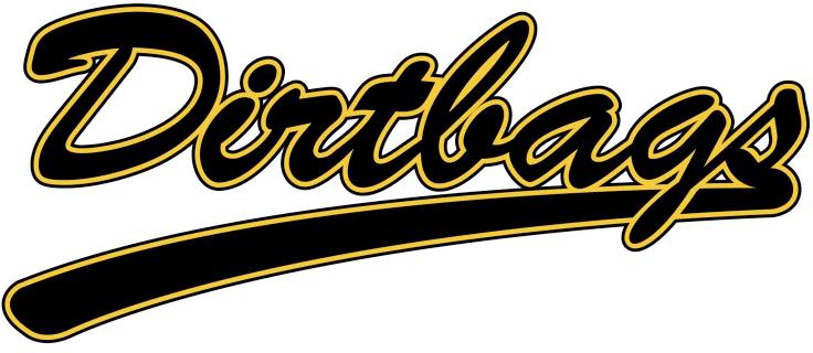 Long Beach State 49ers Logo Wordmark Logo (1992-2013) - Dirtbags baseball script SportsLogos.Net