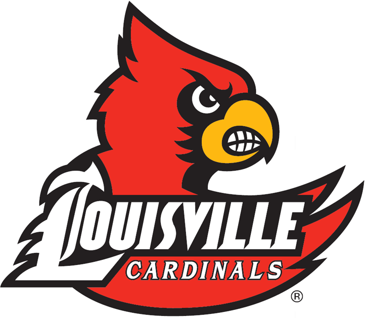 Louisville Cardinals Logo Primary Logo (2007-2012) -  SportsLogos.Net