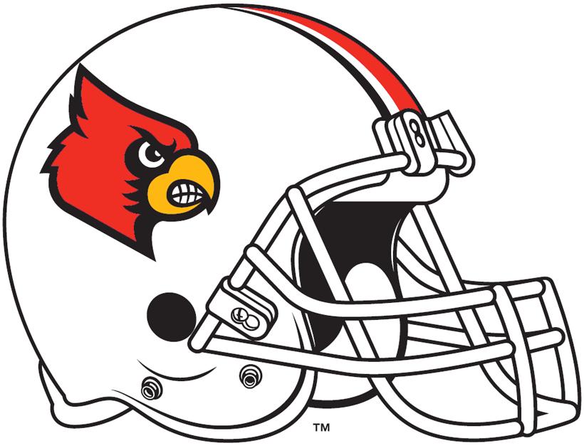 Louisville Cardinals Helmet Helmet (2009-2012) -  SportsLogos.Net