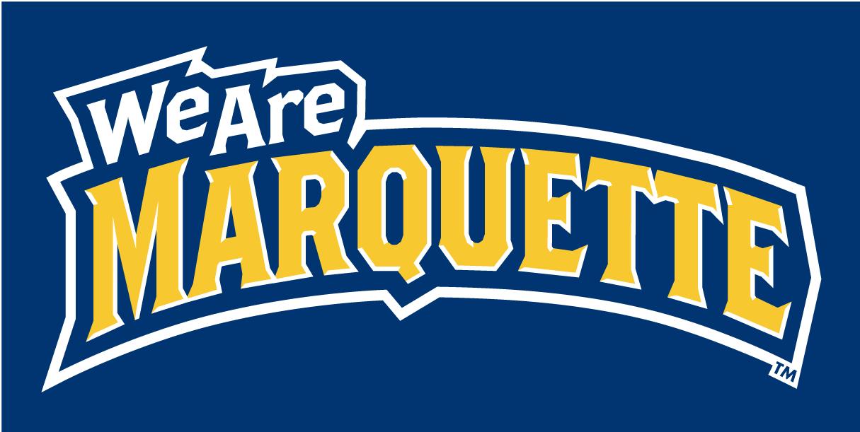 Marquette Golden Eagles Logo Wordmark Logo (2005-Pres) -  SportsLogos.Net