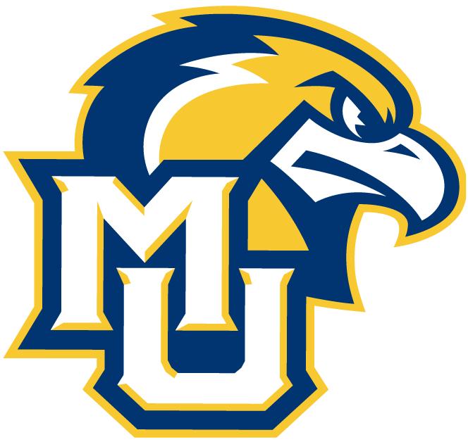 Marquette Golden Eagles Logo Alternate Logo (2005-Pres) - Golden Eagle head with MU lettermark logo. SportsLogos.Net