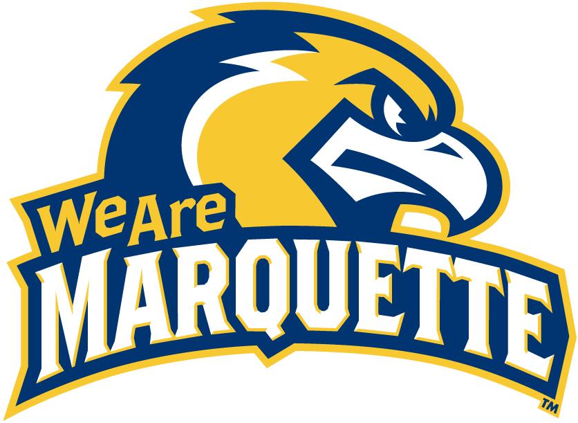 Marquette Golden Eagles Logo Alternate Logo (2005-Pres) - Mascot with slogan logo SportsLogos.Net