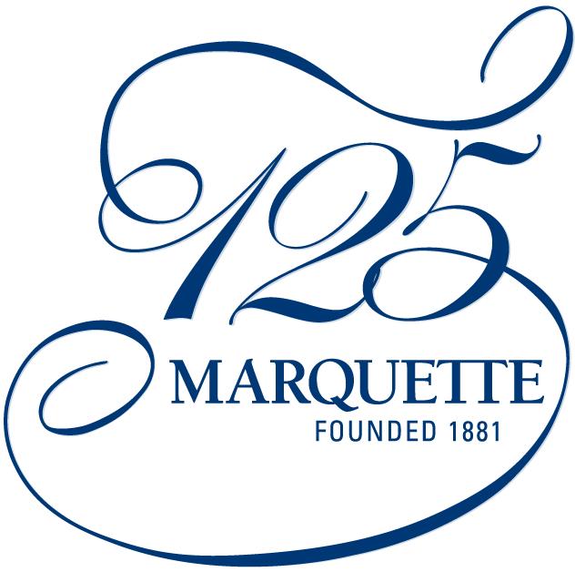 Marquette Golden Eagles Logo Anniversary Logo (2006) - Marquette University 125th Anniversary logo SportsLogos.Net
