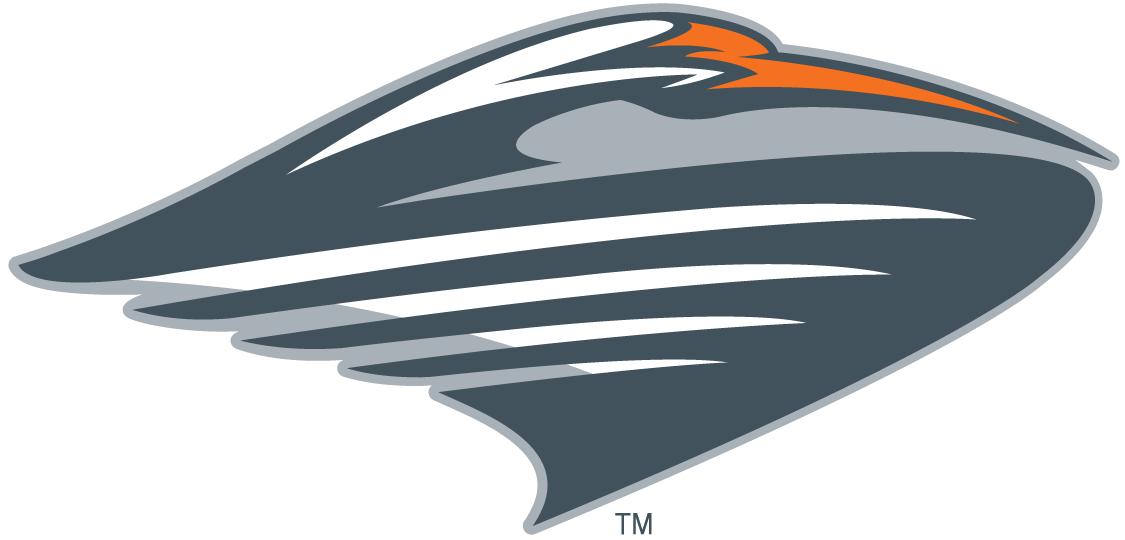 Miami Hurricanes Logo Alternate Logo (2000-2008) - Stylized flying ibis SportsLogos.Net
