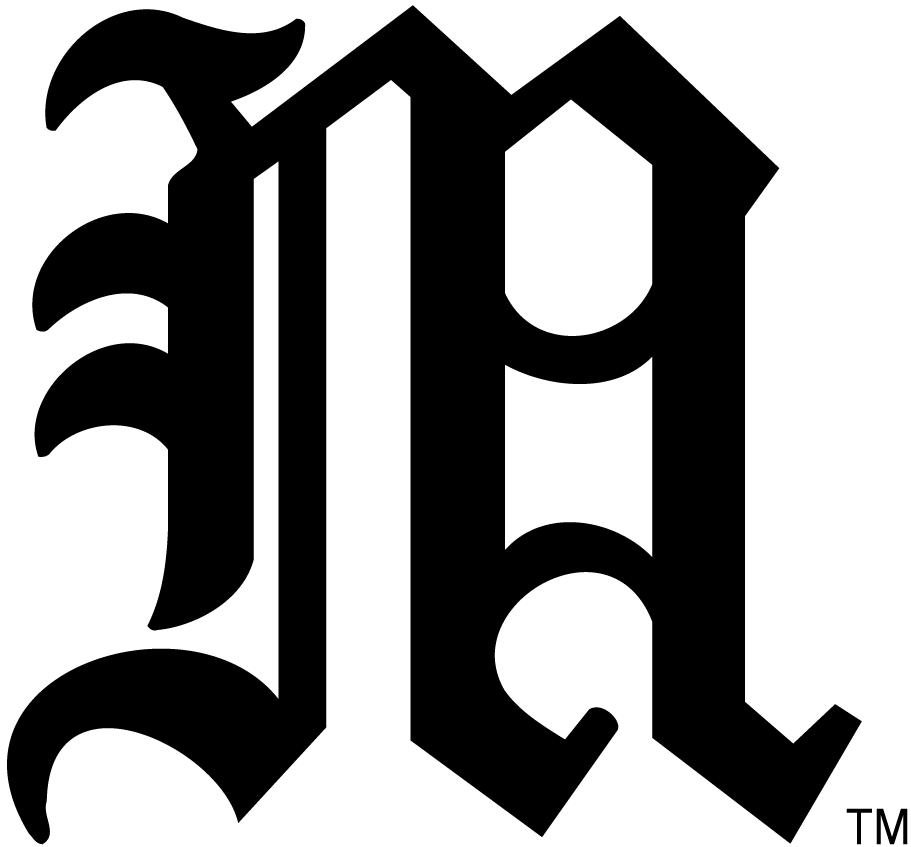 Miami Hurricanes Logo Alternate Logo (2000-Pres) - Miami Hurricanes historical lettermark SportsLogos.Net