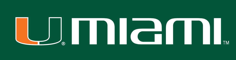 Miami Hurricanes Logo Wordmark Logo (2000-Pres) -  SportsLogos.Net