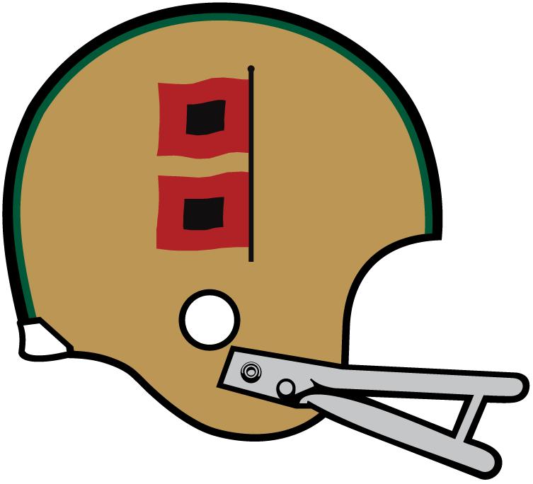 Miami Hurricanes Helmet Helmet (1967) -  SportsLogos.Net
