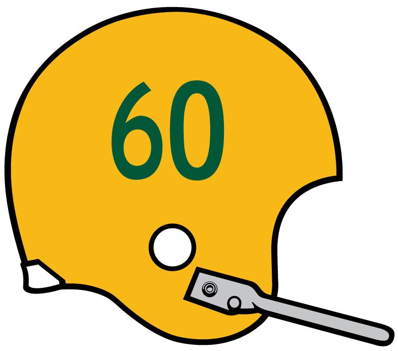 Miami Hurricanes Helmet Helmet (1959-1963) -  SportsLogos.Net