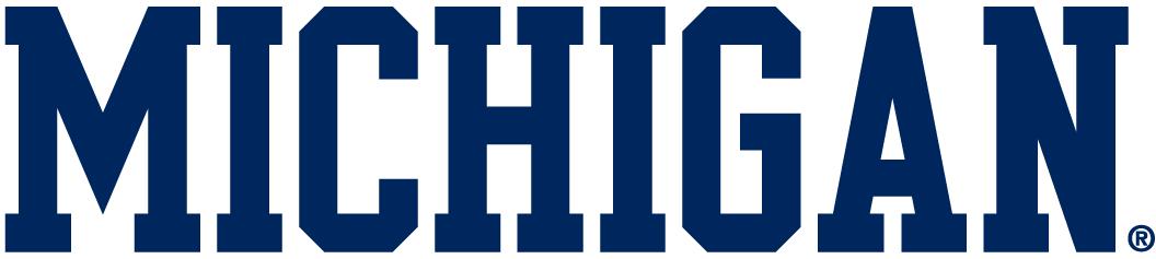 Michigan Wolverines Logo Wordmark Logo (2000-Pres) -  SportsLogos.Net