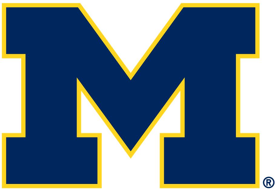 Michigan Wolverines Alternate Logo - NCAA Division I (i-m ...