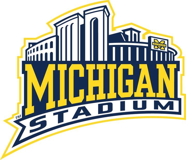 Michigan Wolverines Logo Stadium Logo (2000-Pres) - Michigan Stadium logo SportsLogos.Net