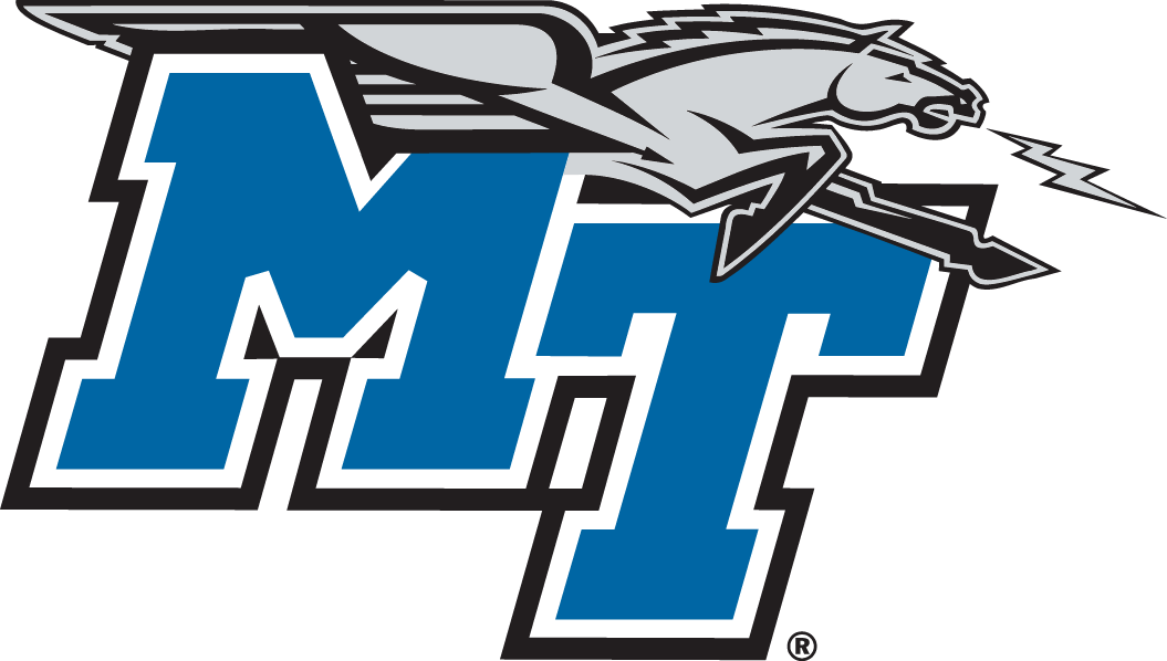 Middle Tennessee Blue Raiders Logo Primary Logo (2007-Pres) -  SportsLogos.Net
