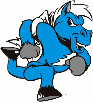 Middle Tennessee Blue Raiders Mascot Logo - NCAA Division ...
