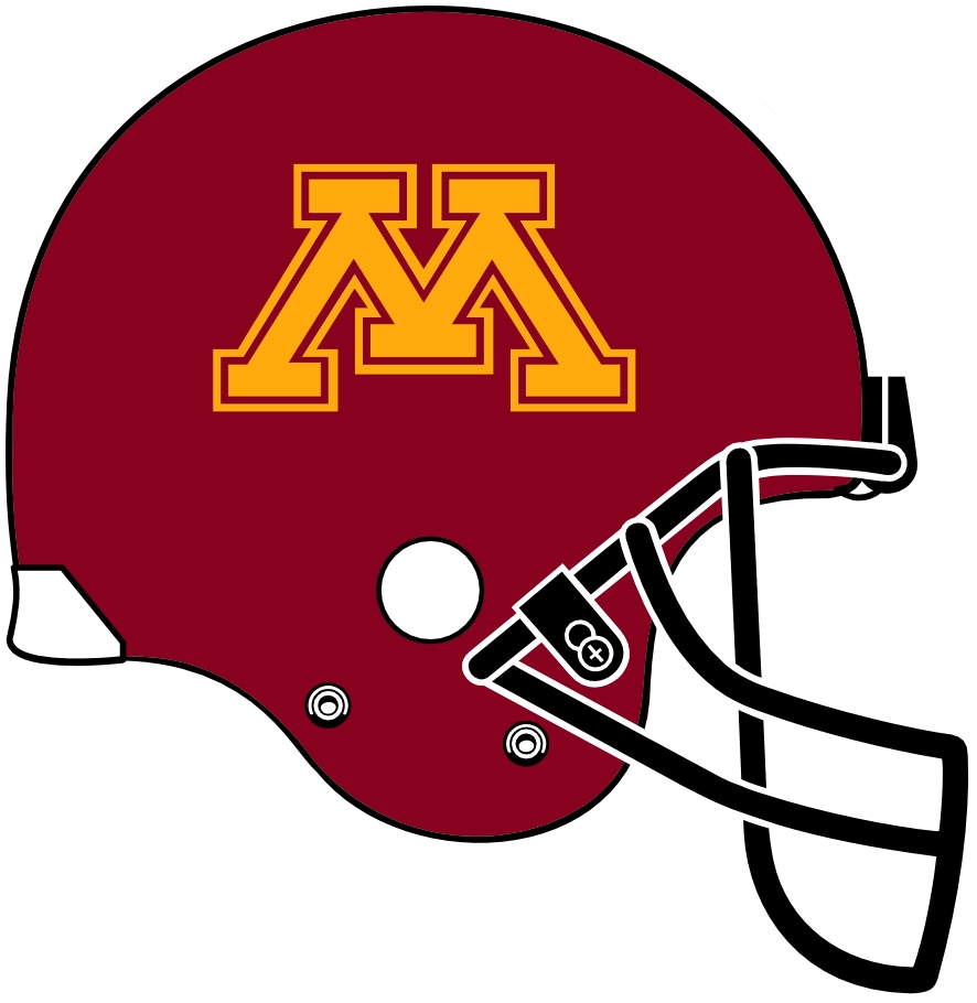 Minnesota Golden Gophers Helmet Ncaa Division I I M
