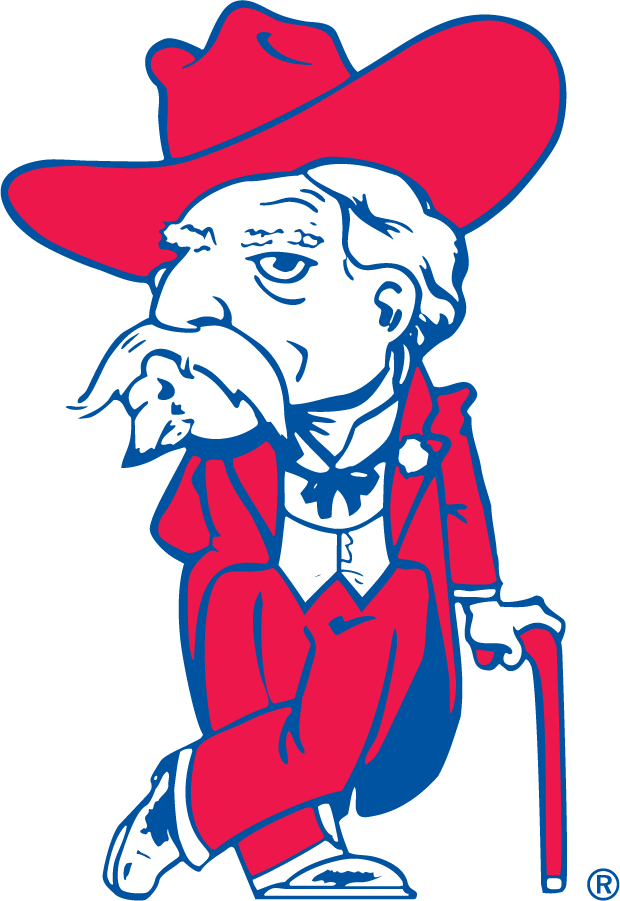 Mississippi Rebels Logo Alternate Logo (1970-2002) - Colonel Reb without text. Officially used by athletics in 1970 and eliminated during the 2000s. SportsLogos.Net