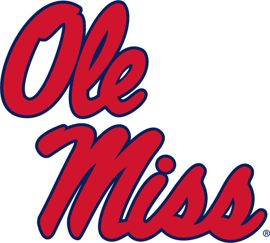 Mississippi Rebels Logo Alternate Logo (2011-2020) - Stacked Script Ole Miss. Was a Secondary until 2011 and became the Primary in 2020. SportsLogos.Net