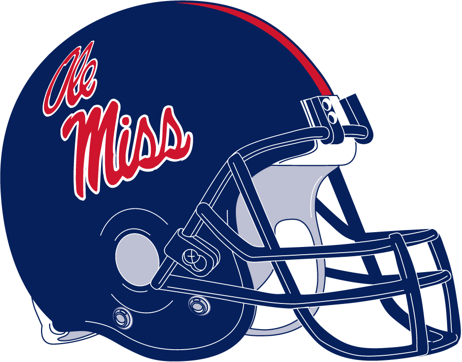 Mississippi Rebels Helmet Helmet (2007-2011) -  SportsLogos.Net