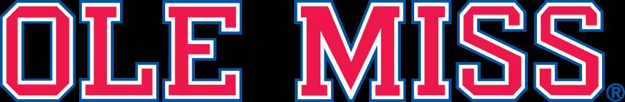 Mississippi Rebels Logo Wordmark Logo (1983-2002) -  SportsLogos.Net