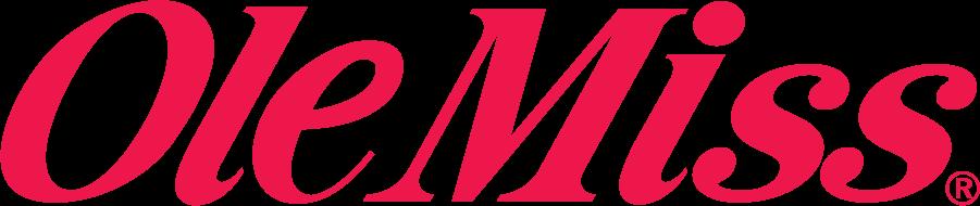 Mississippi Rebels Logo Wordmark Logo (1986-2007) -  SportsLogos.Net
