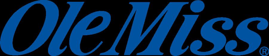 Mississippi Rebels Logo Wordmark Logo (1986-2002) -  SportsLogos.Net